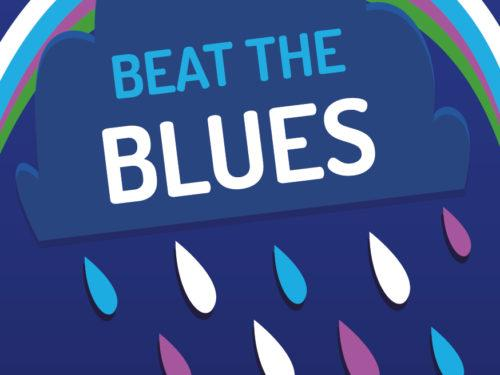 Beat the Blues campaign logo